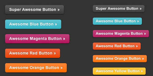 Zurb CSS3 Button with RGBA